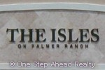 The Isles community sign