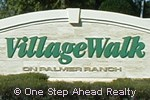 Village Walk community sign